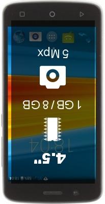 DEXP Ixion M345 Onyx smartphone