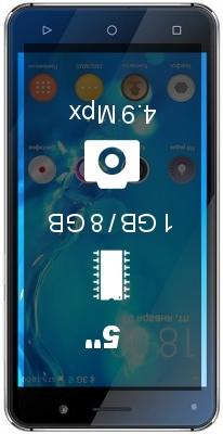 Texet TM-5005 smartphone