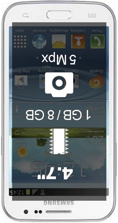 Samsung Galaxy Win smartphone