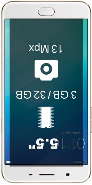 Oppo F1s 3GB-32GB smartphone