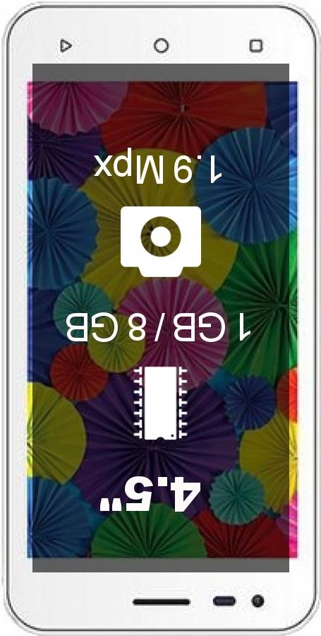 Intex Aqua 4.5 Pro smartphone