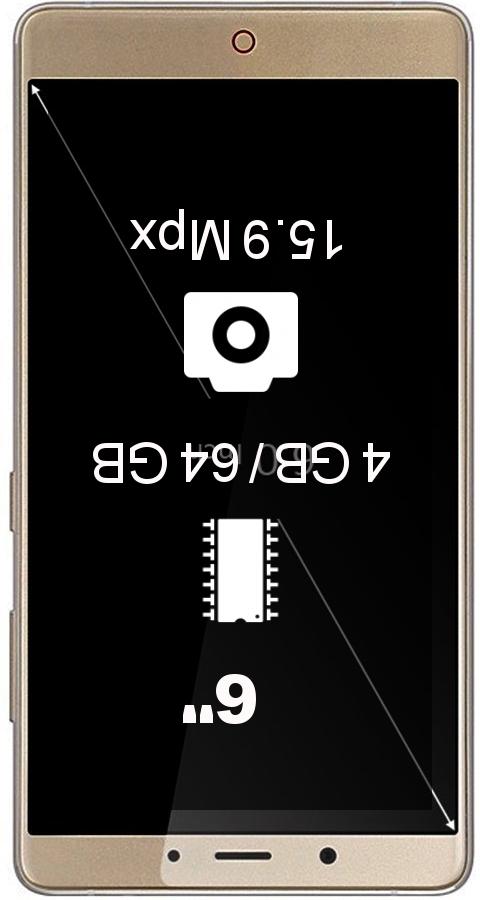 ZTE Nubia Z11 Max 4GB smartphone