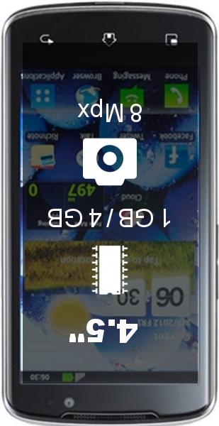 LG Optimus LTE smartphone