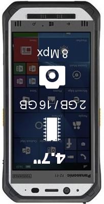 Panasonic Toughpad FZ-F1 smartphone