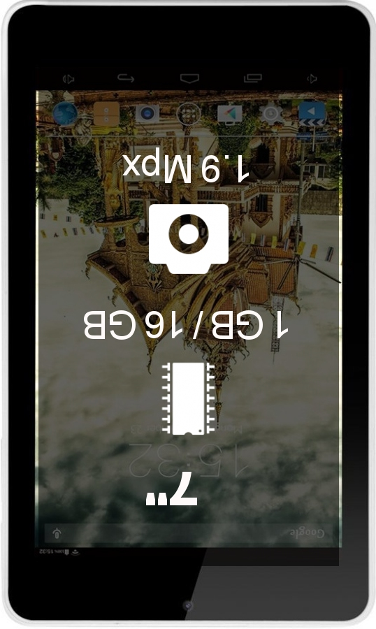 IRULU eXpro X4 tablet