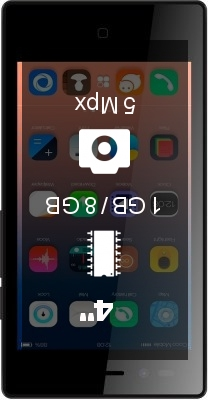Siswoo A4 Chocolate smartphone