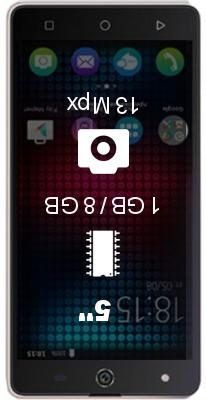 BQ S-5050 Strike Selfie smartphone