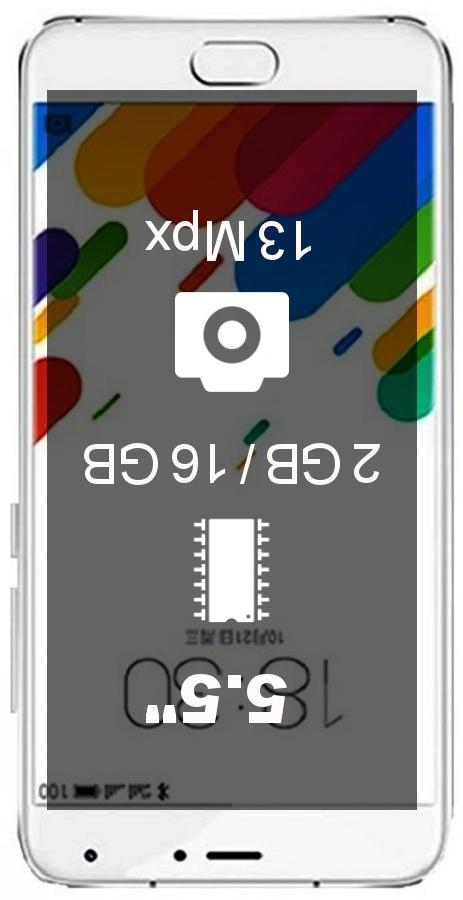 MEIZU Blue Charm Metal 16GB smartphone