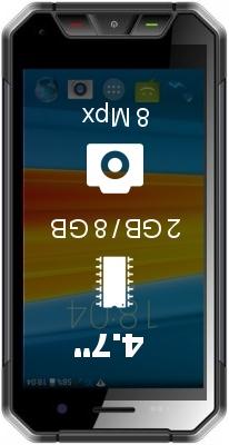 DEXP Ixion P245 Arctic smartphone