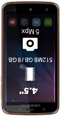 Videocon Graphite V45DB smartphone