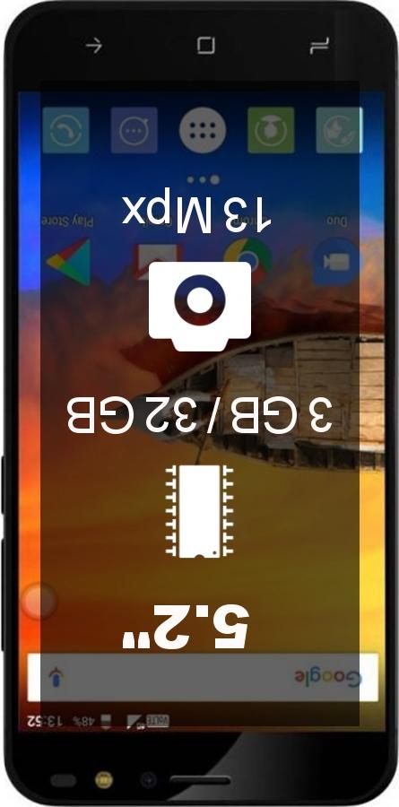 IVooMi Me 3S smartphone