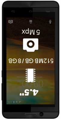 Lava A51 smartphone
