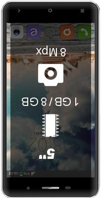 BQ S-5009 Sydney smartphone