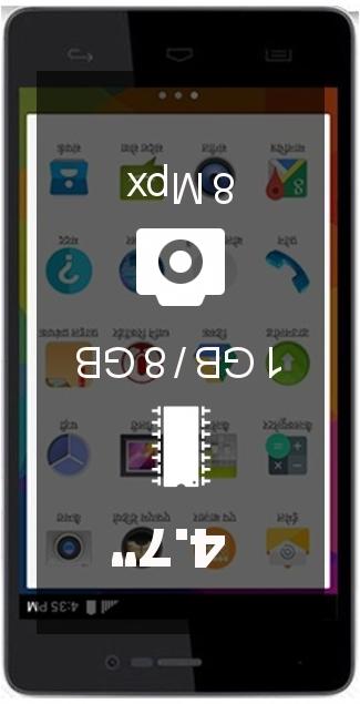 Micromax Canvas Unite 3 Q372 smartphone