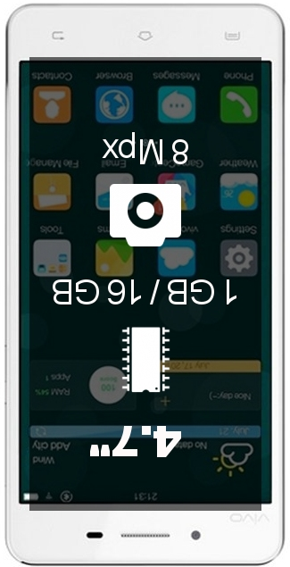 Vivo Y27L smartphone