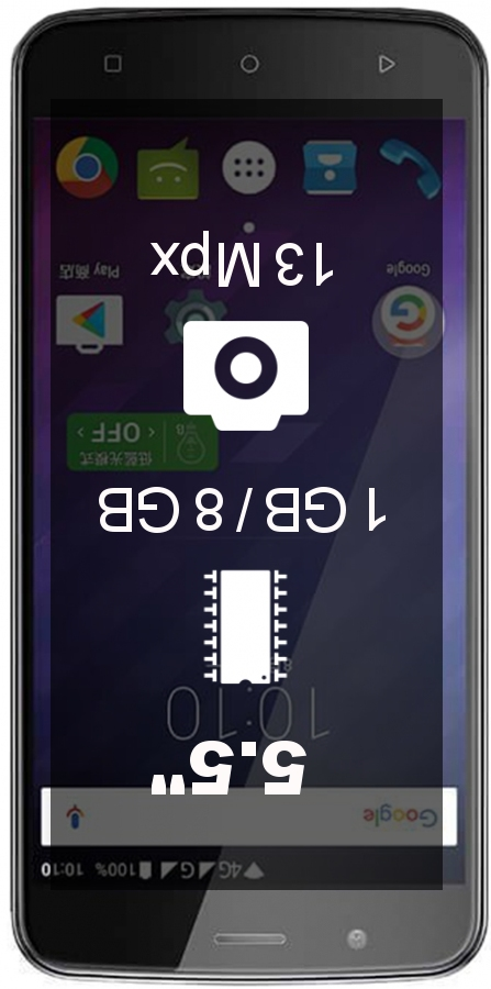 BenQ T55 smartphone