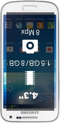 Samsung Galaxy S4 mini I9190 smartphone