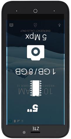 ZTE Avid Trio smartphone