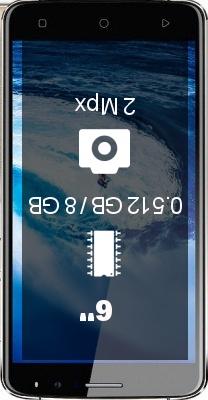 Amigoo X10 smartphone