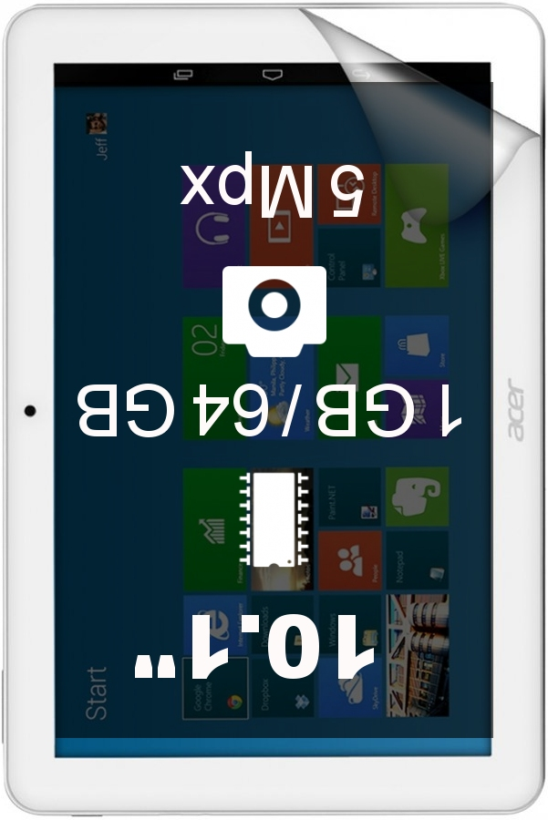 Acer Iconia Tab 10 A3-A20 64GB tablet