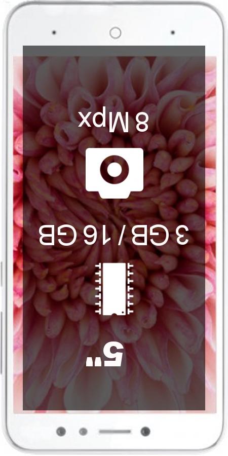 Spice V801 smartphone