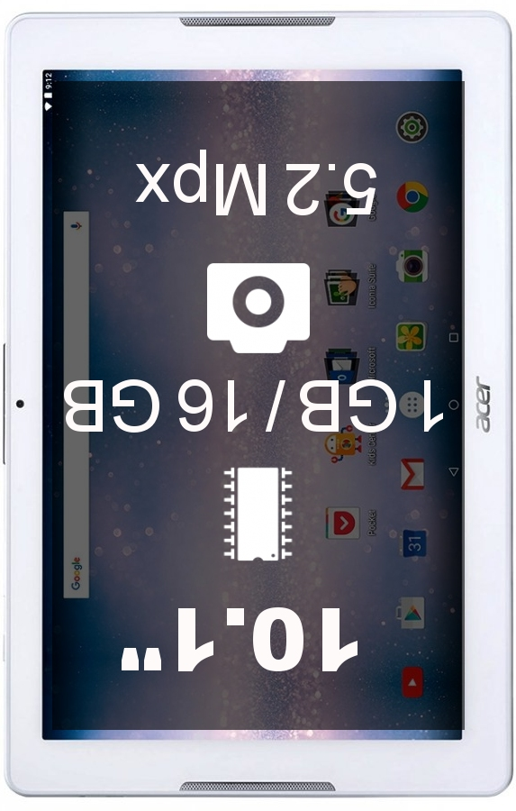 Acer Iconia One 10 tablet