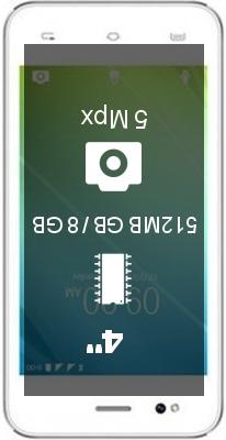Lava A50 smartphone