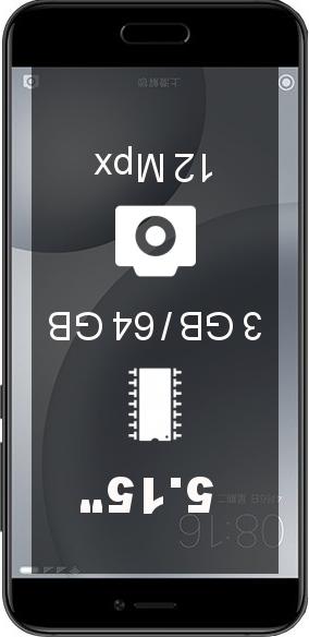 Xiaomi Mi5c 3GB 64GB smartphone