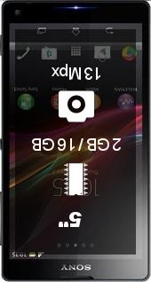 SONY Xperia ZL smartphone