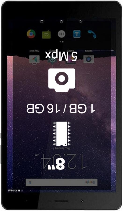 Philips E Line 4G E821L tablet