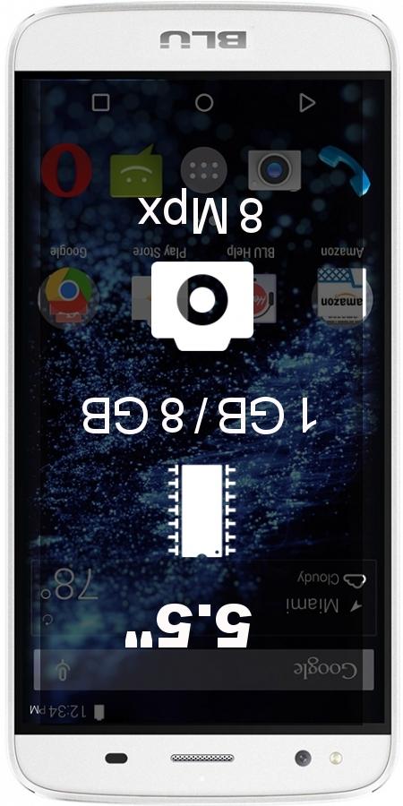 BLU Dash X Plus LTE smartphone