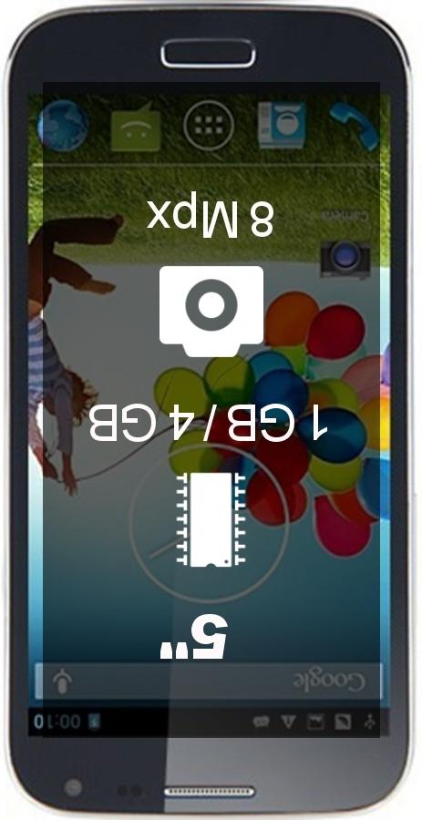 Jiake I9500W smartphone