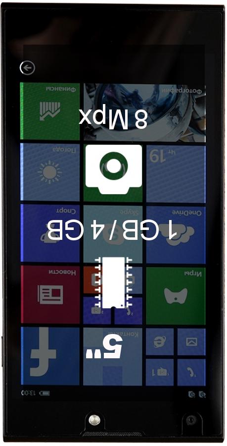 DEXP Ixion W 5 smartphone