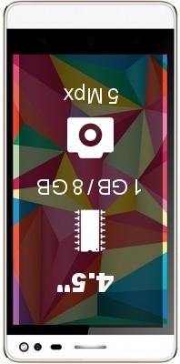Intex Aqua Raze smartphone