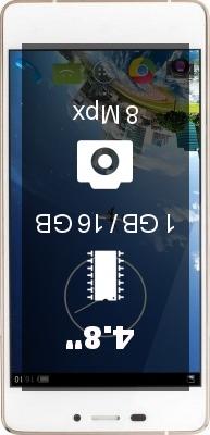 Kazam Tornado 348 smartphone