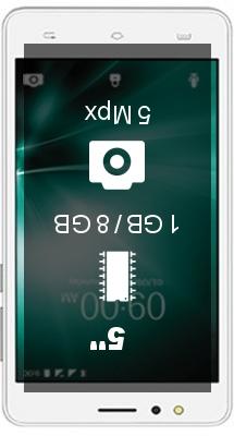 Lava A73 smartphone