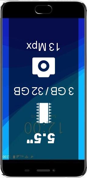 UMiDIGI C Note 3GB 32GB smartphone