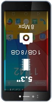 Prestigio Muze F3 smartphone