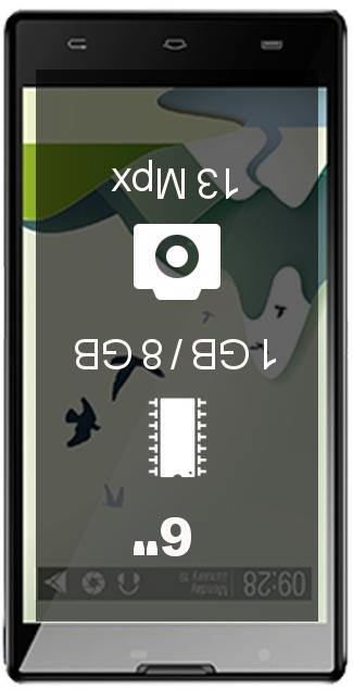Verykool Cyprus s6001 smartphone