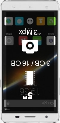 Cubot X16 S smartphone