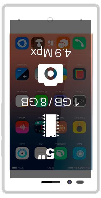 Siswoo A5 Chocolate smartphone
