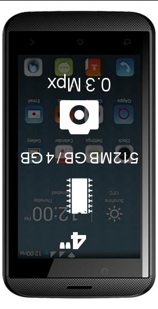QMobile Bolt T50 smartphone