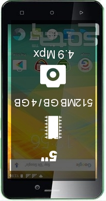 Prestigio Wize NK3 smartphone