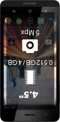 Archos 45b Helium 4G smartphone