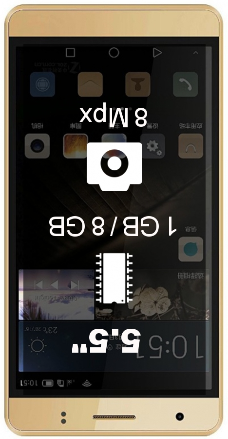 Intex Aqua Dream II smartphone