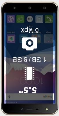 Karbonn K9 Viraat 1GB 8GB smartphone