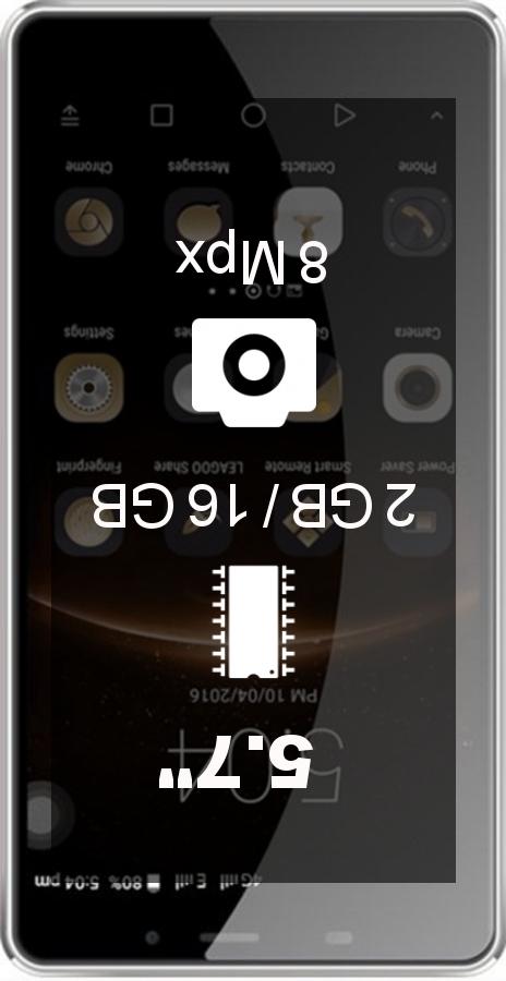 Leagoo M8 smartphone