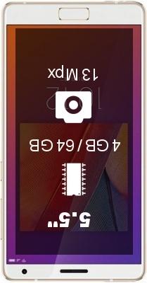 Zuk Z2 Edge L smartphone