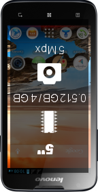 Lenovo A680 smartphone