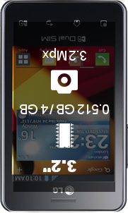 LG Optimus L2 II smartphone